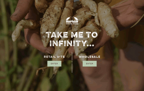 Infinity Foods Web Design