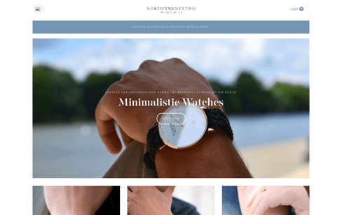 NorthTwentytwo Web Design