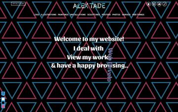 ALEX TADE Web Design