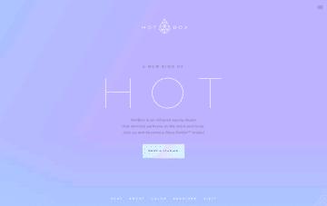 HotBox Infrared Sauna Studio Web Design