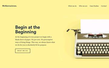 McKennaJones. Web Design