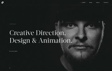Nick Boes Creative Portfolio Web Design