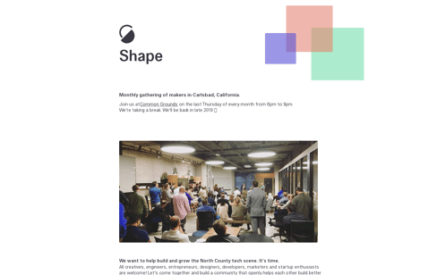 Shape Web Design