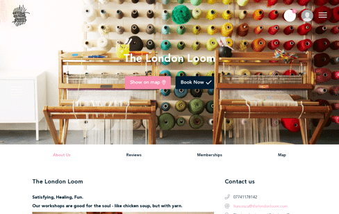 The London Loom Web Design