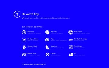 Tiny Web Design