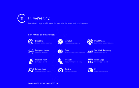 Tiny Web Design