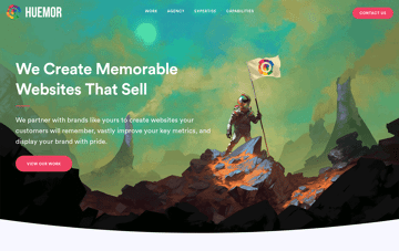 Huemor web Agency Web Design