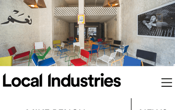 Local Industries. Web Design
