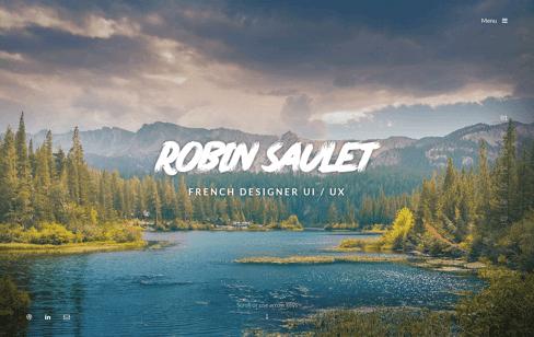 Robin Saulet Portfolio Web Design