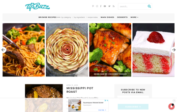 TipBuzz Web Design