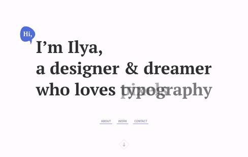 Ilya Flarin Web Design