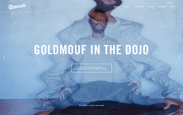 Dreamville Records — Cole World No Blanket Web Design