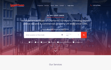 LegatOwen Web Design