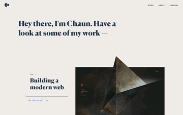 Hey, I'm Chaun Web Design
