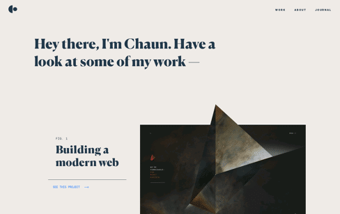Hey, I'm Chaun Web Design