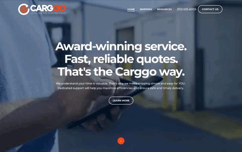 Carggo - Digital Logistics Provider Web Design