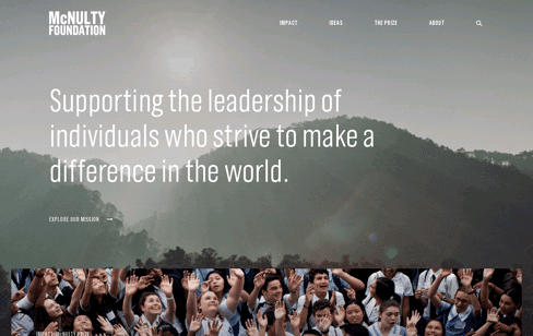 McNulty Foundation Web Design