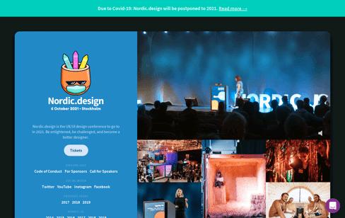 Nordic.design | Nordic.design 2019 Web Design