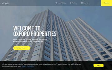 Oxford Properties Web Design