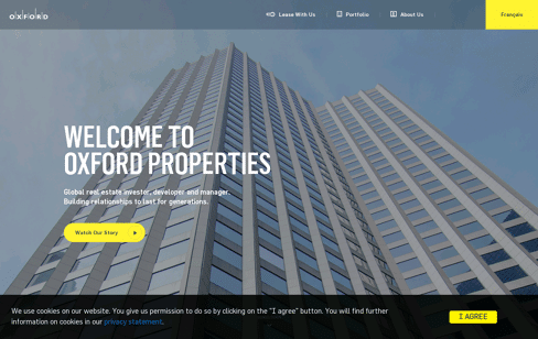 Oxford Properties Web Design