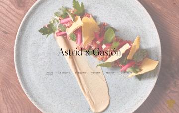 Astrid & Gastón Web Design