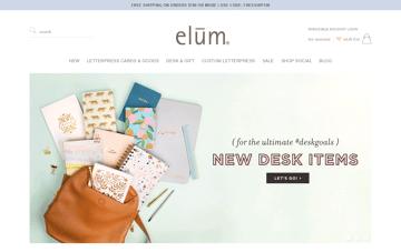 Elum Designs Web Design
