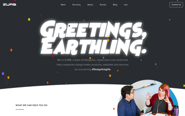 ZURB Web Design