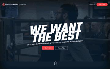 ReminderMedia Careers Web Design