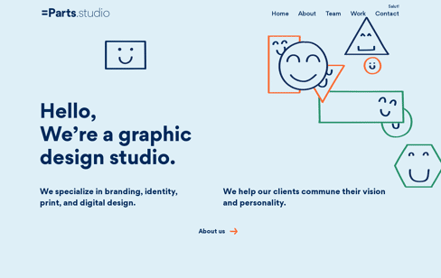 Equal Parts Studio Web Design