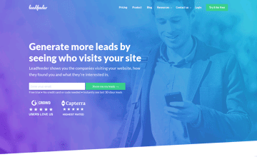 LeadFeeder Web Design
