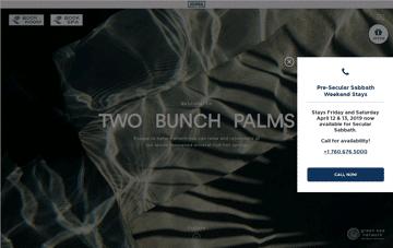 Two Bunch Palms Web Design