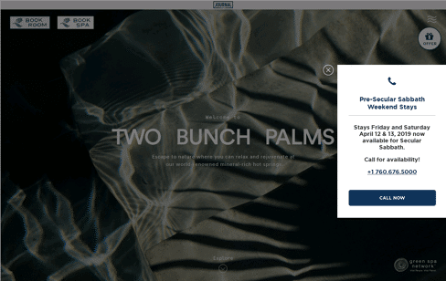 Two Bunch Palms Web Design