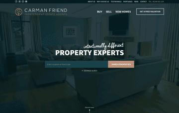 Carman Friend  Web Design