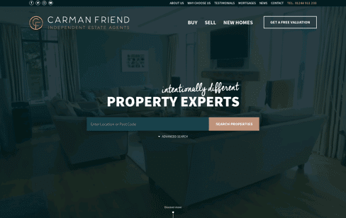 Carman Friend  Web Design