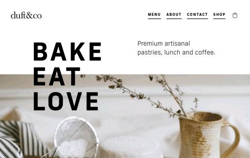 Duft & Co Web Design