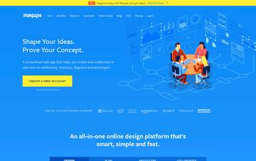 Moqups Web Design