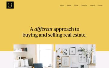Berdan Real Estate Web Design