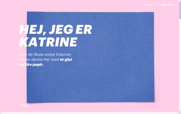 Katrine Mehl Web Design