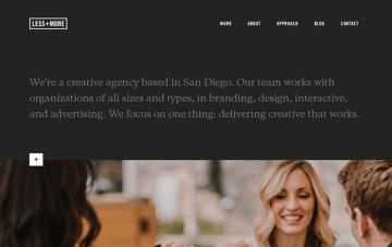 LESS+MORE Web Design