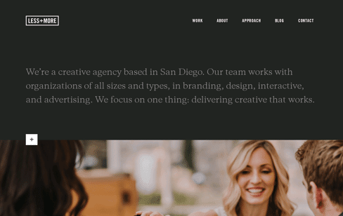 LESS+MORE Web Design