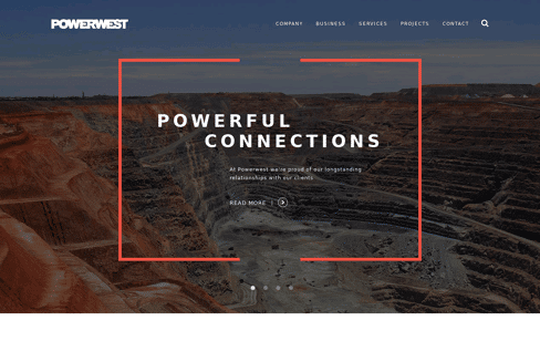 POWERWEST Web Design
