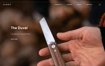 The James Brand Web Design