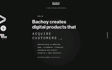 Bachoy Digital Product Consultancy Web Design