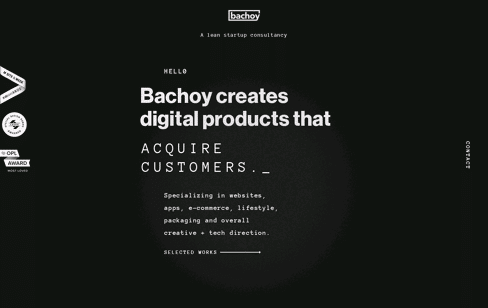 Bachoy Digital Product Consultancy Web Design