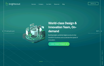 Global Product Design, Development, Innovation Firm Web Design