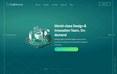 Global Product Design, Development, Innovation Firm Web Design