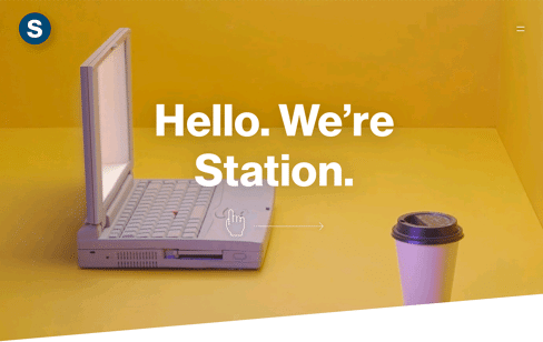 Station Web Design