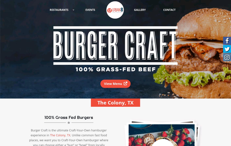 Burger Craft @ Urban8