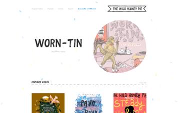 The Wild Honey Pie Web Design