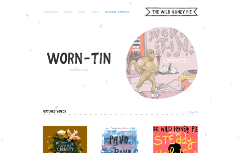 The Wild Honey Pie Web Design